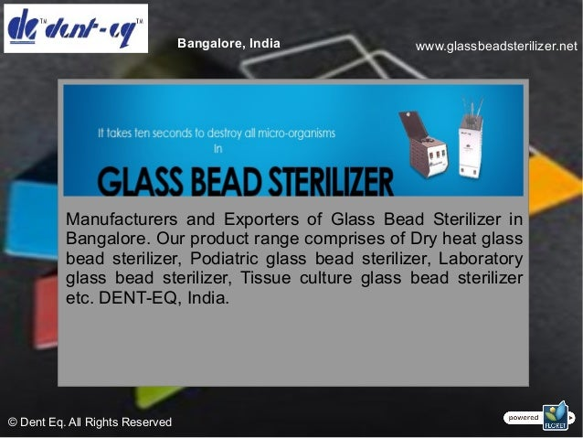 Manufacturers, suppliers and exporters of glass bead sterilizer Slide 2