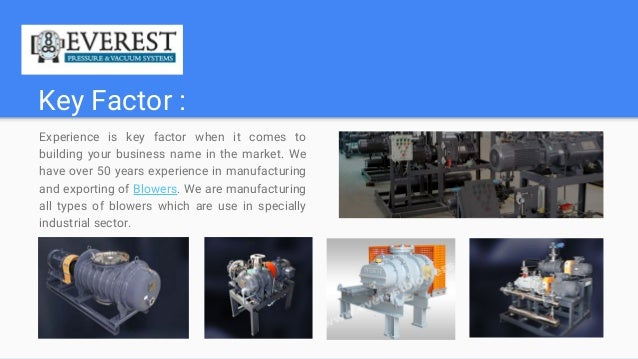 Blowers Manufacturer & Supplier Slide 2