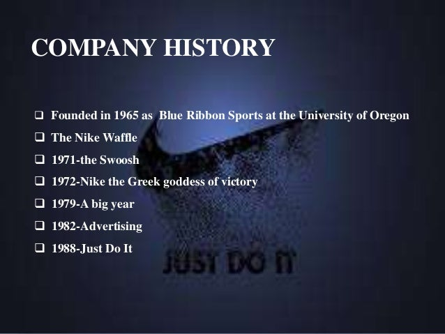 History & Background of Nike