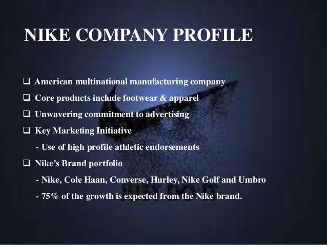 a brief historical perspective of the nike company Define background background synonyms,  historical, or technical  it is highly satisfactory to know that he recedes into the remote perspective of asia.