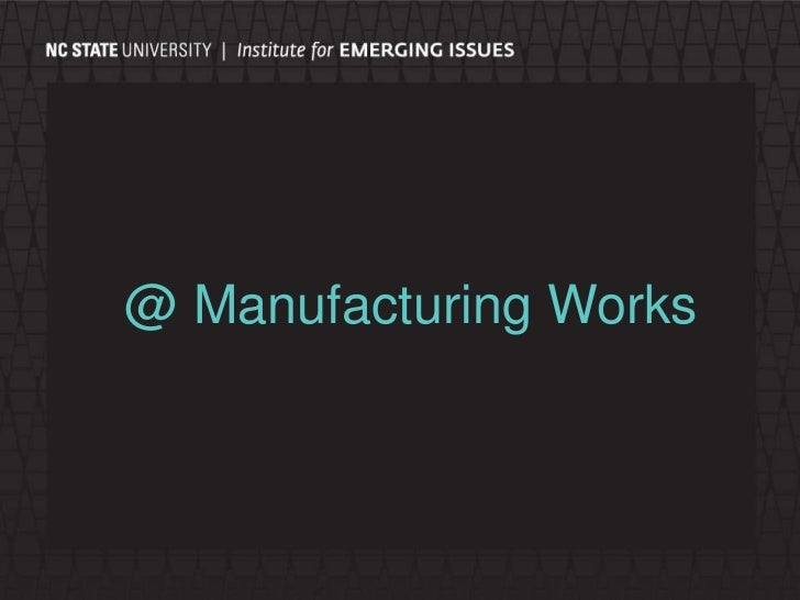 @ Manufacturing Works