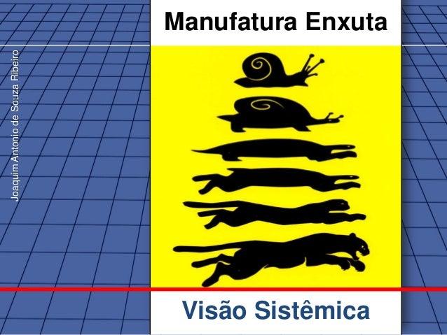 Joaquim Antonio de Souza Ribeiro                                   Manufatura Enxuta                                    Vi...