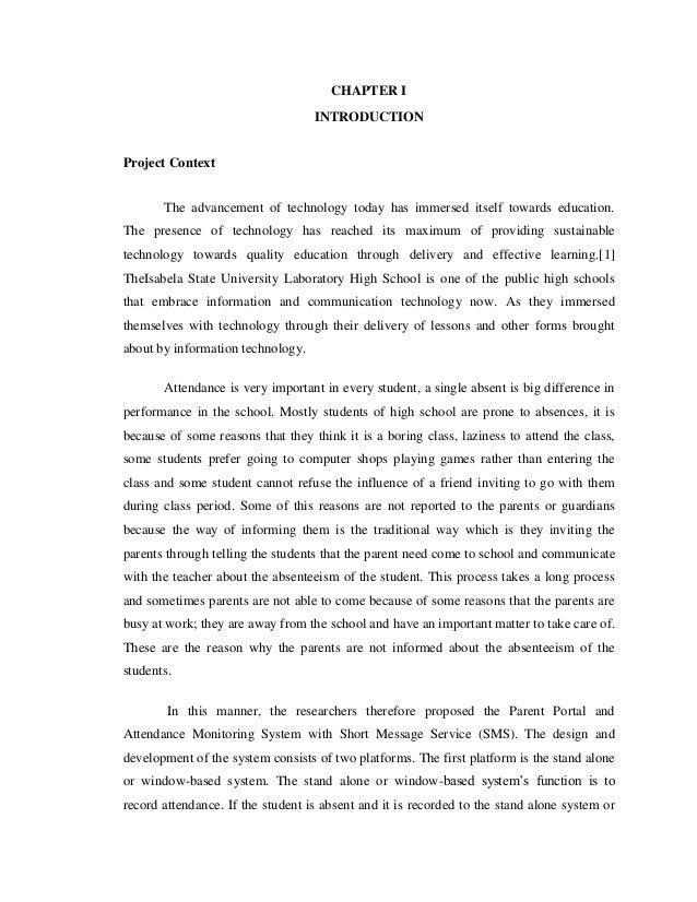 monitoring system thesis pdf