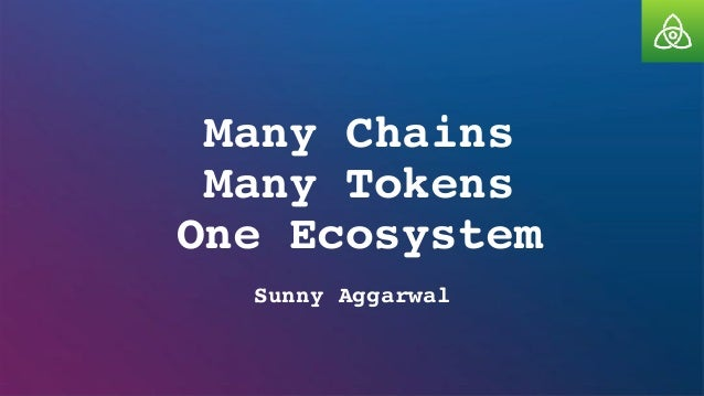 Many Chains Many Tokens One Ecosystem Sunny Aggarwal