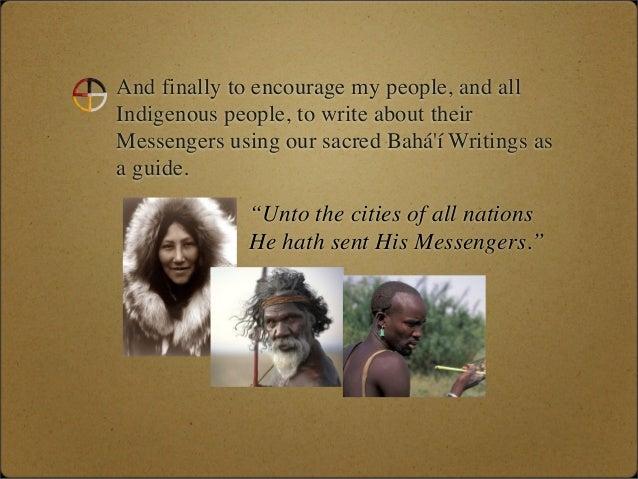Native American Messengers of God