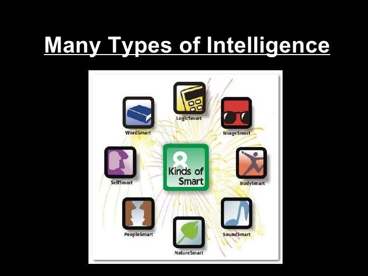 Many Types of Intelligence