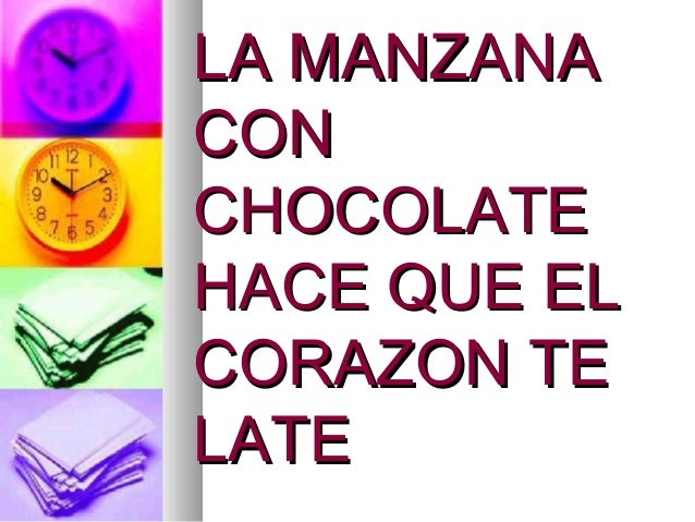 Manzana chocolateada nahikari Slide 2