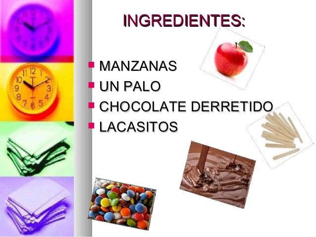 Manzana chocolateada nahikari Slide 3