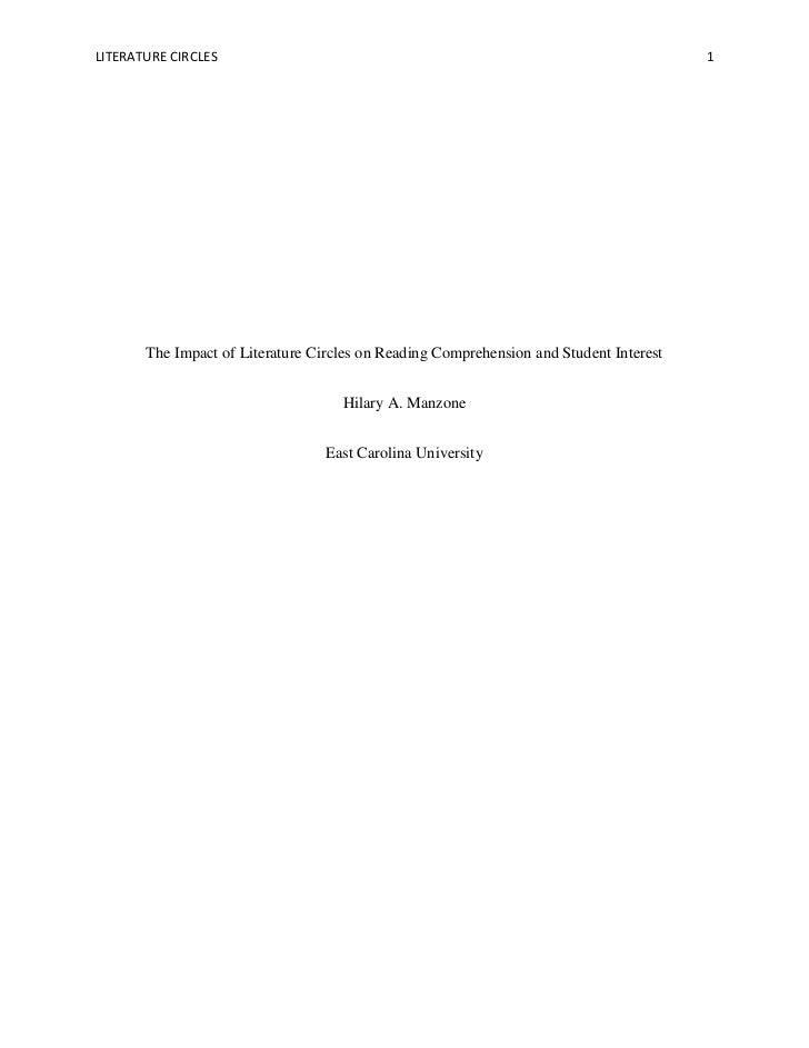 LITERATURE CIRCLES                                                                      1       The Impact of Literature C...
