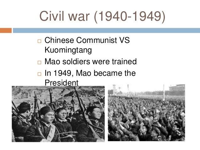 ... 5. Civil war (1940-1949) ...