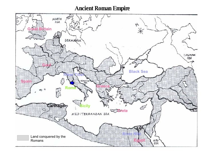 Worksheet. Map Of Roman Empire