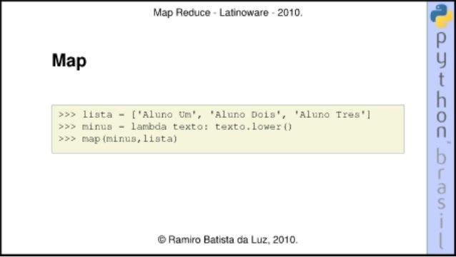 Map reduce Slide 3