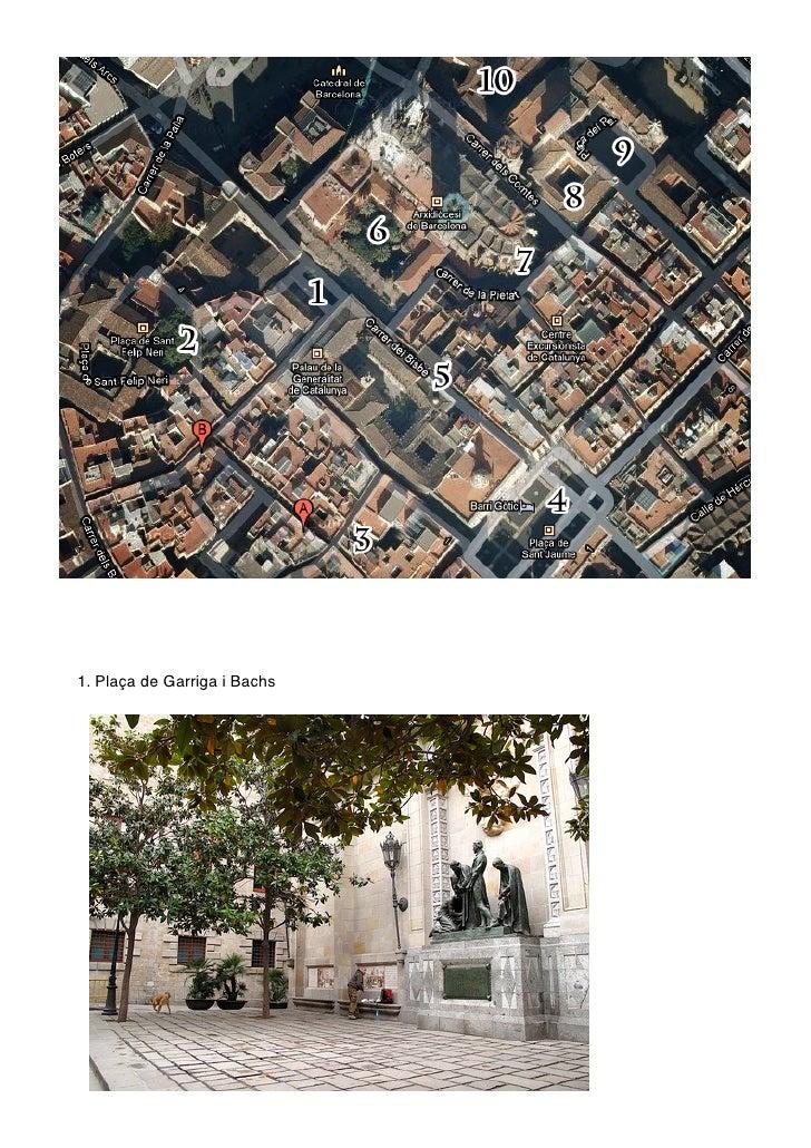 1. Plaça de Garriga i Bachs