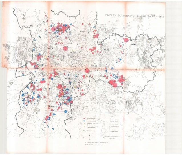 Mapa   favelas do municipio de são paulo (p.28)