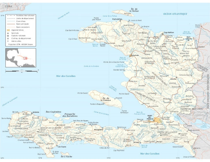 Mapa Haití