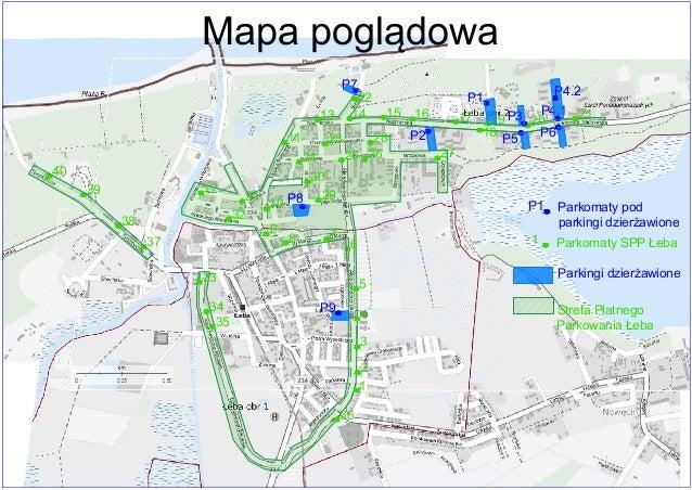 Mapa Stref Platnego Parkowania Leba