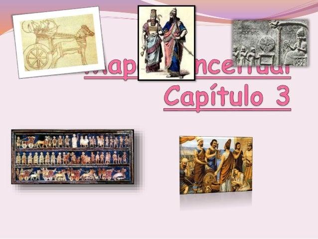 Mapa Conceitual capítulo 3 Neolítico:agricult ura e criação de animais= sedentarizarão Inicio da divisão de trabalho = des...