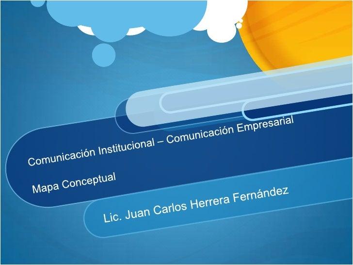 COM. INSTITUCIONAL                          COM. EMPRESARIAL                 Comunica                          Variedad de...