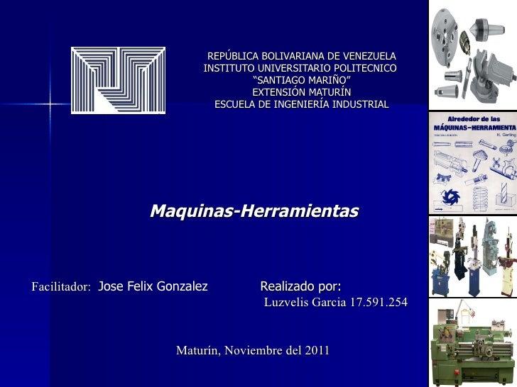 """REPÚBLICA BOLIVARIANA DE VENEZUELA INSTITUTO UNIVERSITARIO POLITECNICO  """"SANTIAGO MARIÑO"""" EXTENSIÓN MATURÍN ESCUELA DE ING..."""