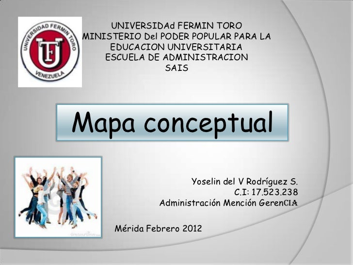UNIVERSIDAd FERMIN TOROMINISTERIO Del PODER POPULAR PARA LA     EDUCACION UNIVERSITARIA    ESCUELA DE ADMINISTRACION      ...
