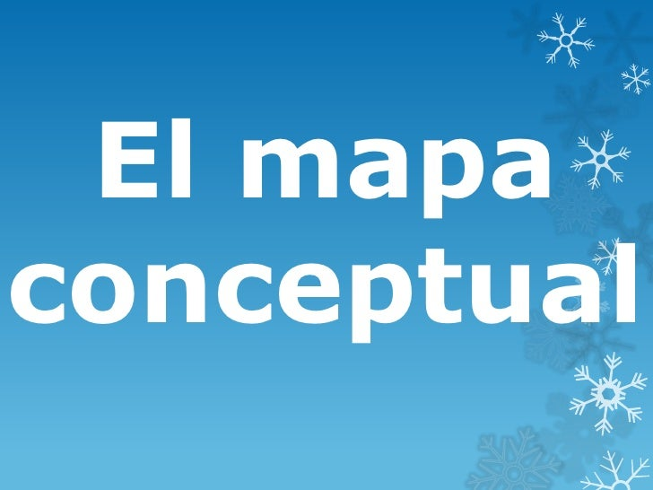 El mapaconceptual