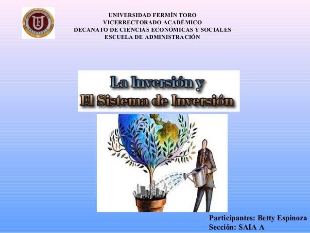 UNIVERSIDAD FERMÍN TORO VICERRECTORADO ACADÉMICO DECANATO DE CIENCIAS ECONÓMICAS Y SOCIALES ESCUELA DE ADMINISTRACIÓN Part...