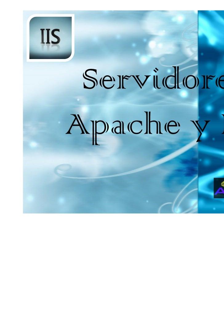 ServidoresApache y IIS