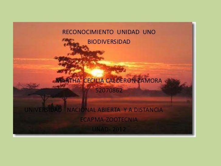 RECONOCIMIENTO UNIDAD UNO                 BIODIVERSIDAD         MARTHA CECILIA CALDERON ZAMORA                    52070862...