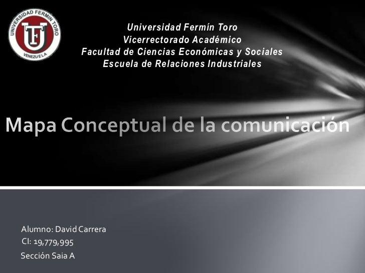 Universidad Fermín Toro                          Vicerrectorado Académico                 Facultad de Ciencias Económicas ...