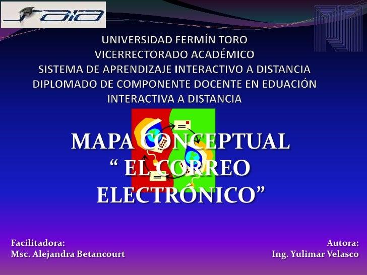UNIVERSIDAD FERMÍN TORO VICERRECTORADO ACADÉMICOSISTEMA DE APRENDIZAJE INTERACTIVO A DISTANCIADIPLOMADO DE COMPONENTE DOCE...