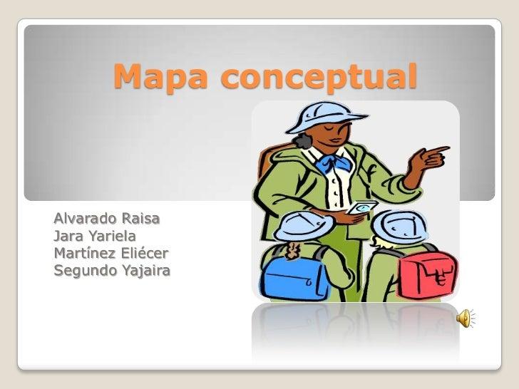 Mapa conceptualAlvarado RaisaJara YarielaMartínez EliécerSegundo Yajaira