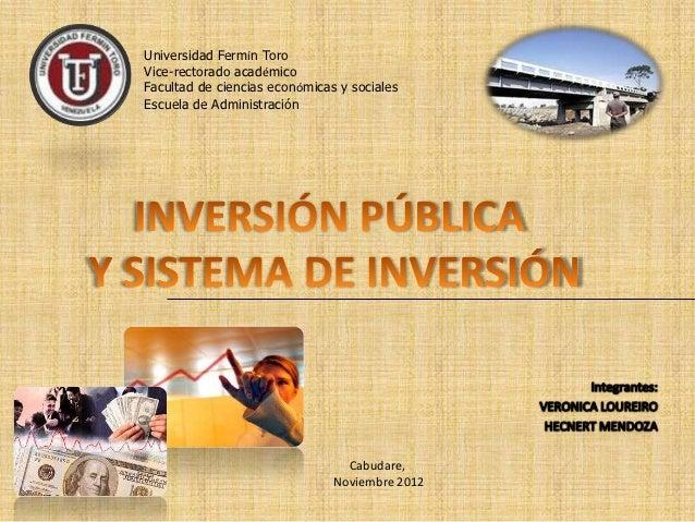 Universidad Fermín ToroVice-rectorado académicoFacultad de ciencias económicas y socialesEscuela de Administración        ...