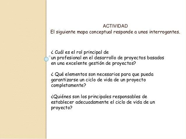 ACTIVIDAD El siguiente mapa conceptual responde a unos interrogantes. ¿ Cuál es el rol principal de un profesional en el d...