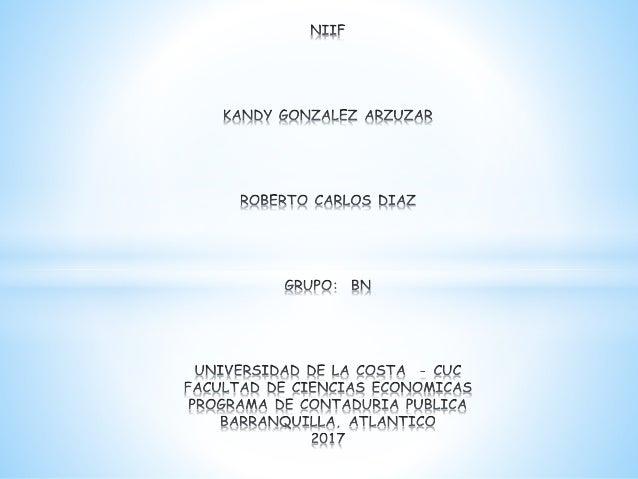 NIIF Normas Internacionales de Información Financiera BENEFICIOS Los Mercados de Activos Los Mercados en General El Gobier...