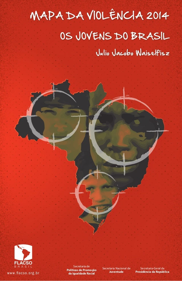 Mapa da violência    jovens do brasil (2014)