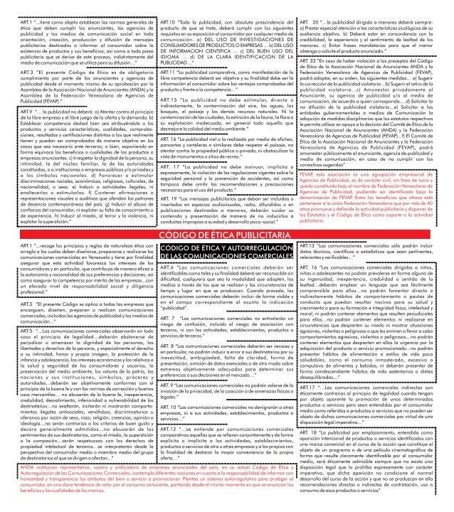 Mapa Mental de Código de Ética Publicitaria y Código de Ética y Autorregulación de las Comunicaciones Comerciales