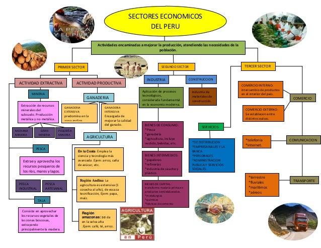 SECTORES ECONOMICOS                                                                                     DEL PERU          ...