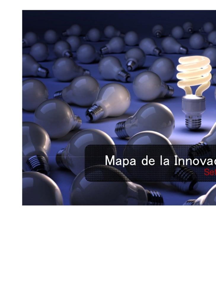Mapa de la Innovació Local               Setembre 2010