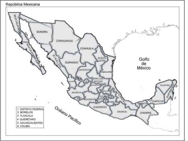 Mapa De La Republica