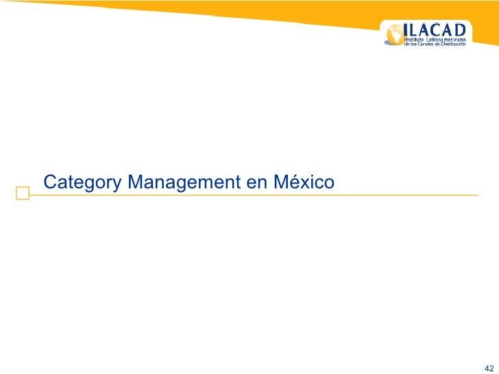 Category Management en México