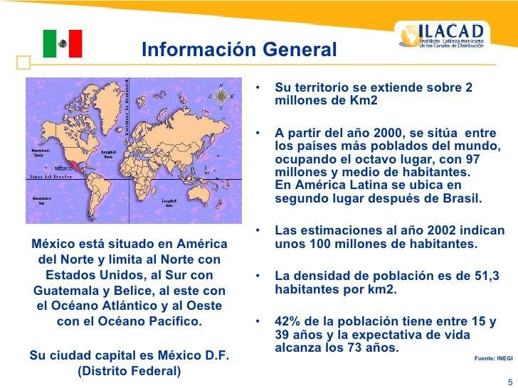 Información General <ul><li>Su territorio se extiende sobre 2 millones de Km2 </li></ul><ul><li>A partir del año 2000, se ...