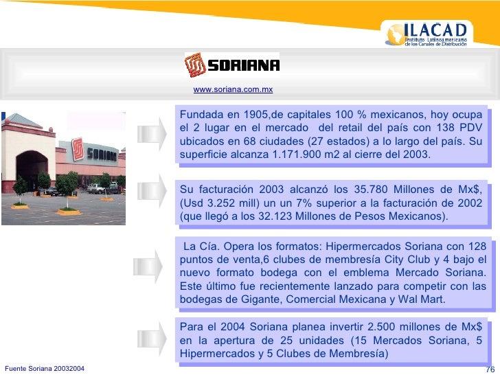 Fundada en 1905,de capitales 100 % mexicanos, hoy ocupa el 2 lugar en el mercado  del retail del país con 138 PDV ubicados...