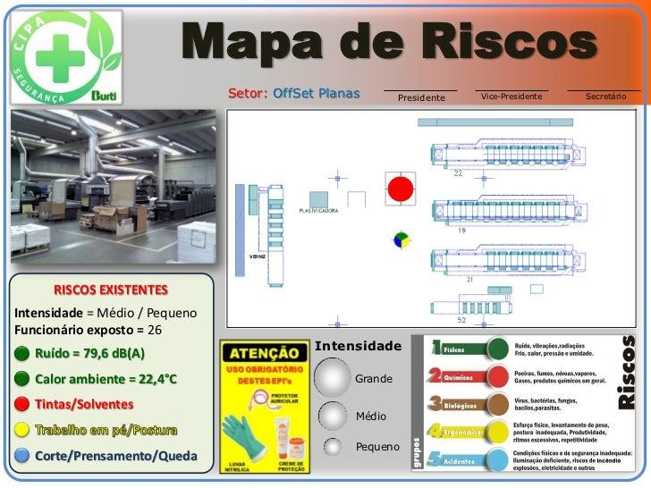 Mapa de Riscos                                Setor: OffSet Planas        Presidente   Vice-Presidente   Secretário       ...