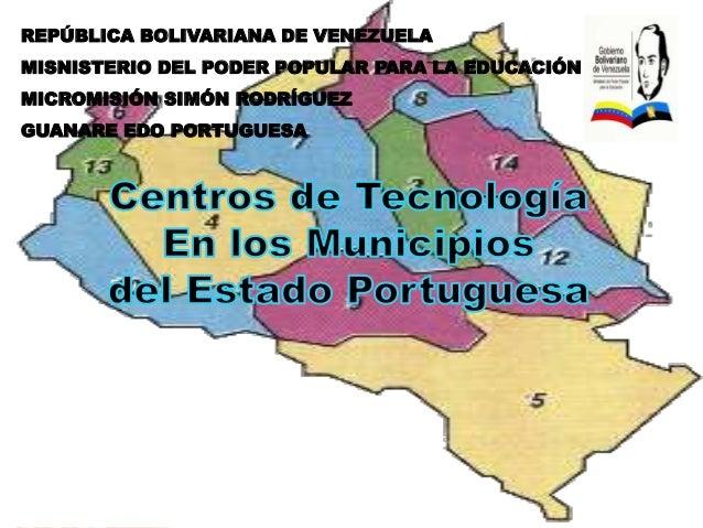 REPÚBLICA BOLIVARIANA DE VENEZUELA  MISNISTERIO DEL PODER POPULAR PARA LA EDUCACIÓN  MICROMISIÓN SIMÓN RODRÍGUEZ  GUANARE ...