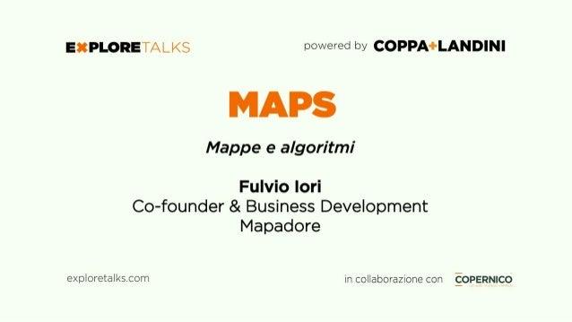 Mappe... una fissazione... Mapadore