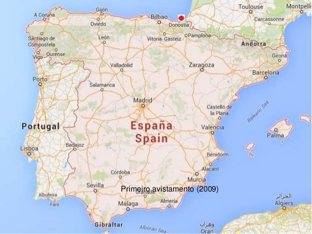 Mapa De La Expansion De La Avispa Asiatica En Espana Y Portugal