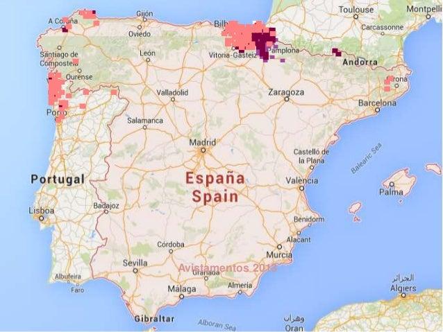 Mapa De La Expansión De La Avispa Asiática En España Y Portugal - Portugal mapa