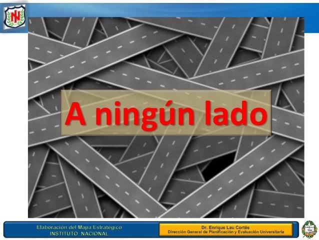 Mapa estrategico instituto nacional 29 8 2013 for Instituto bilingue virgen de guadalupe