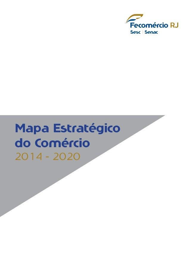 Mapa Estratégico do Comércio 2014 - 2020