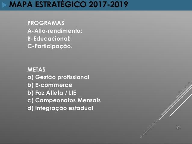 Mapa estratégico FBTM 2017 19 Slide 2